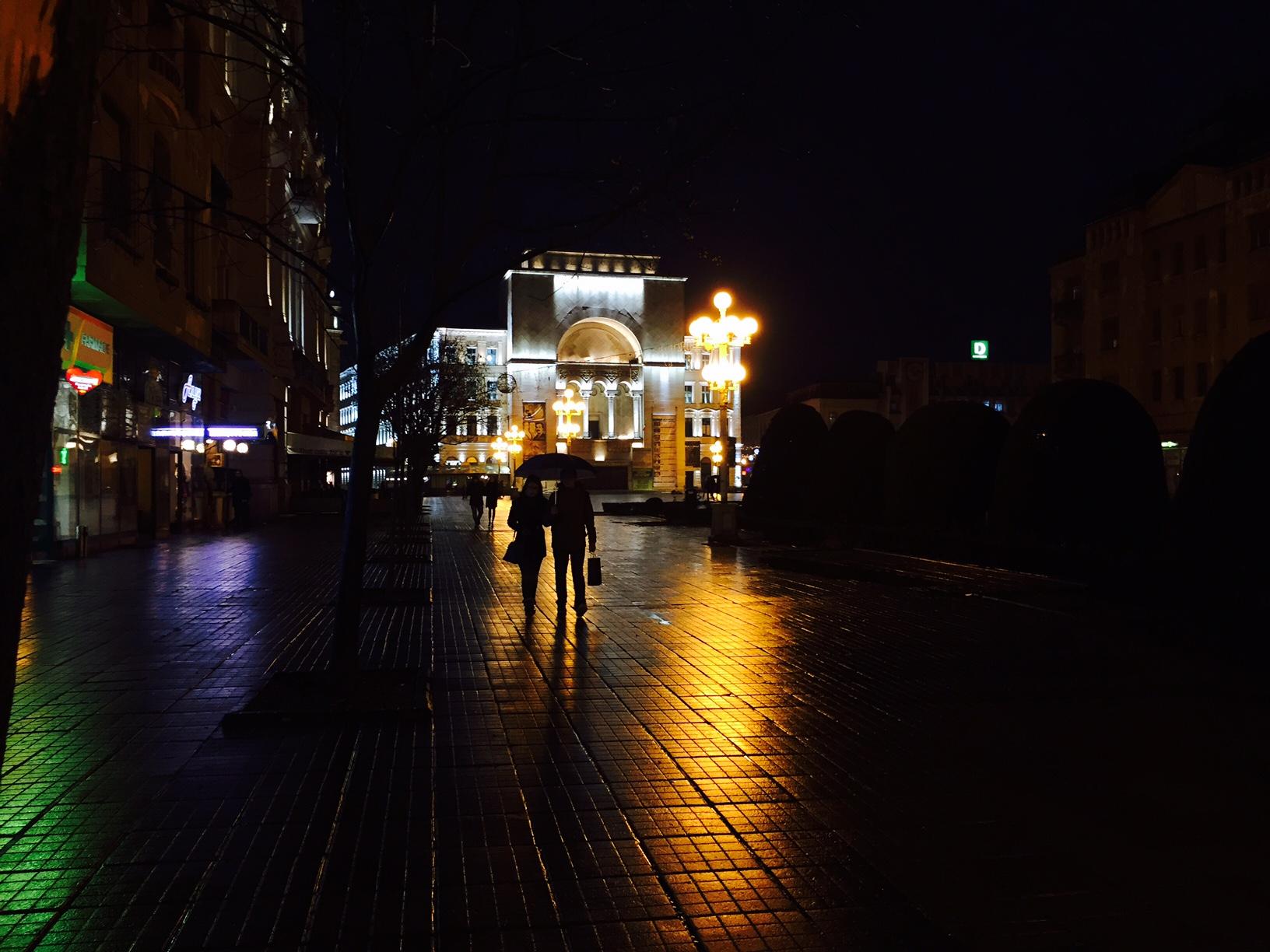 timisoara di notte