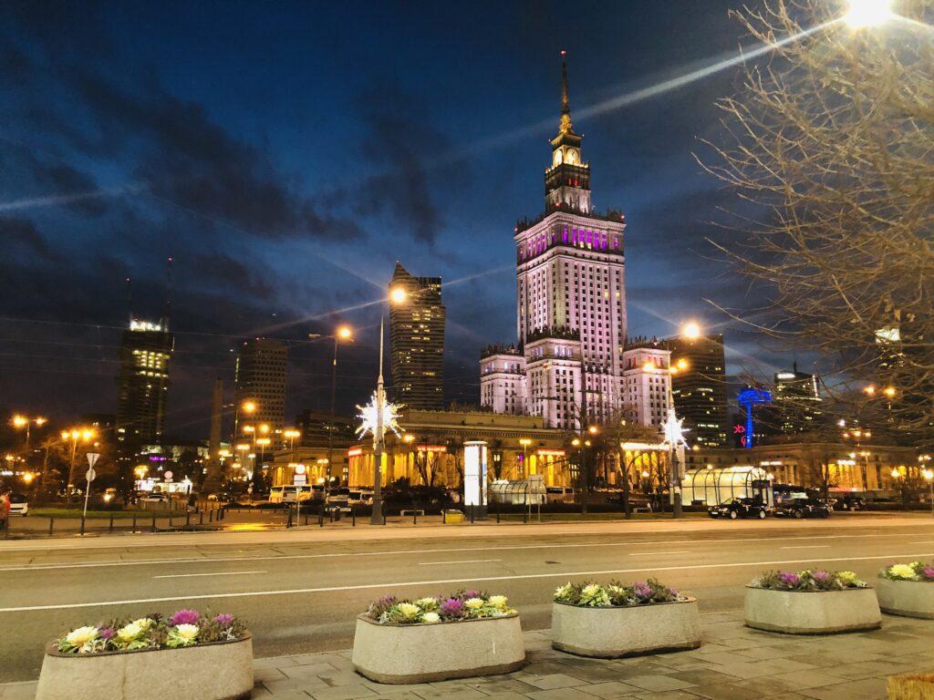 palazzo della cultura a Varsavia_visite e area panoramica