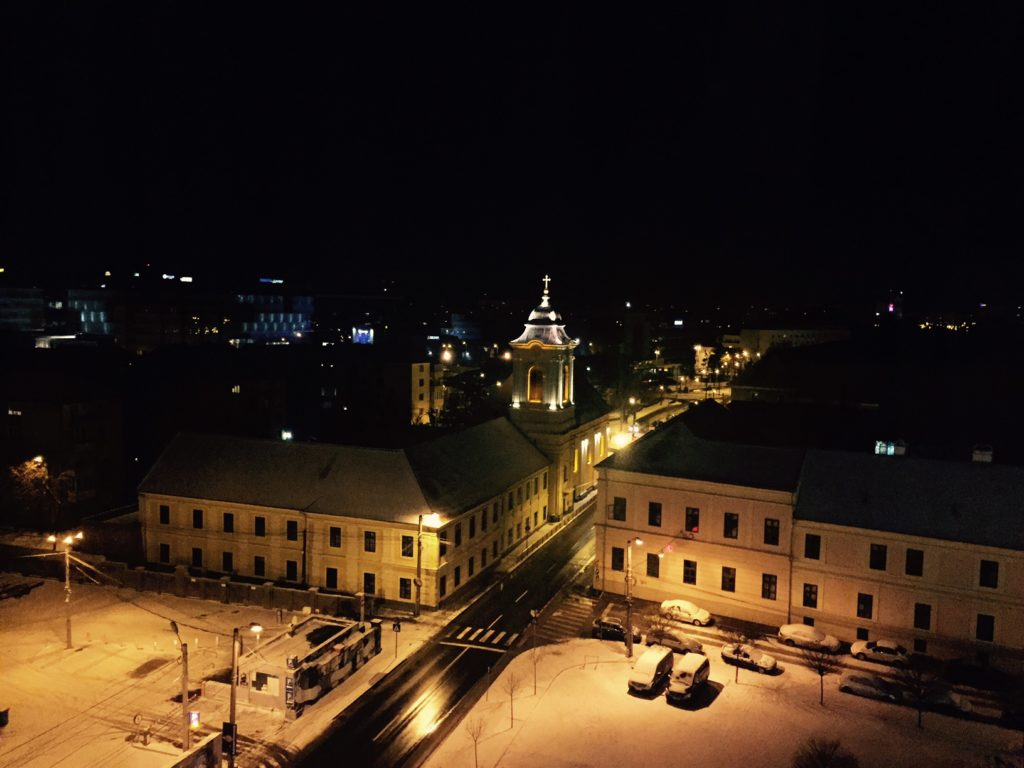 Timisoara by night