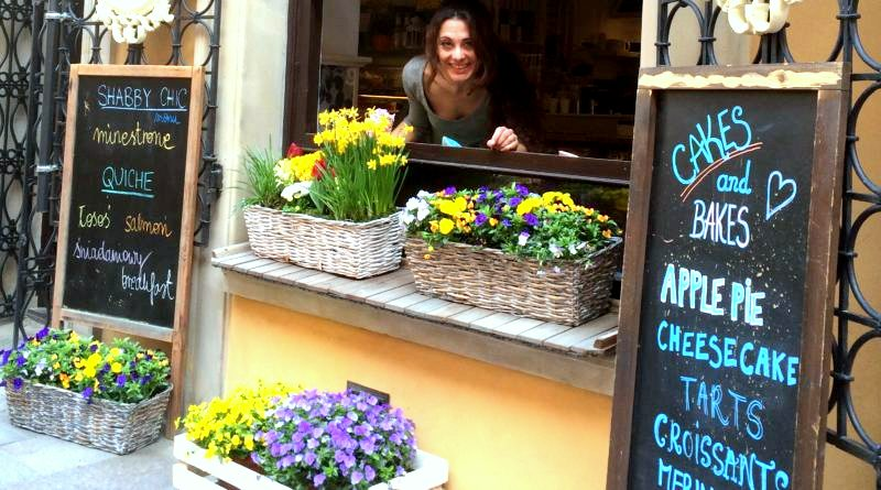 Shabby chic coffee & wine bar colazione a varsavia