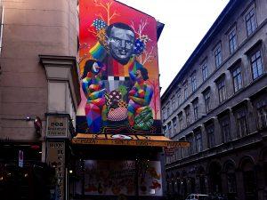 street art autorizzata di budapest - facade renda project