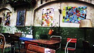 art e interior decor in Szimpla Kert