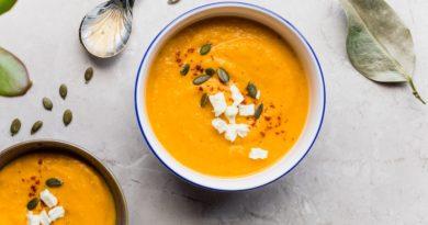 zuppa di zucca e zenzero - piatto ungherese cose da mangiare a budapest