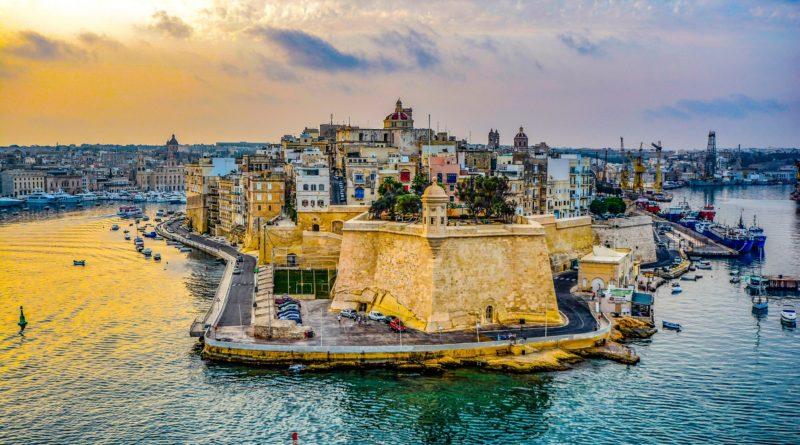 malta - porto di valletta visto dal mare