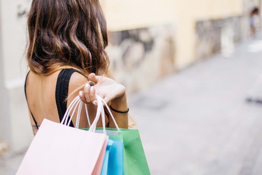 shopping in Europa