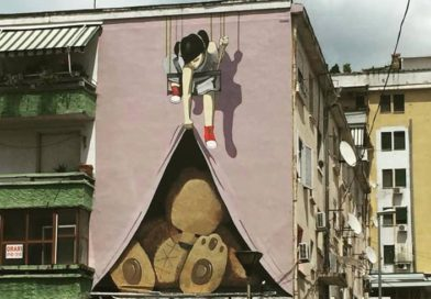The Renaissance of art in Europe begins in the Street art of Tirana