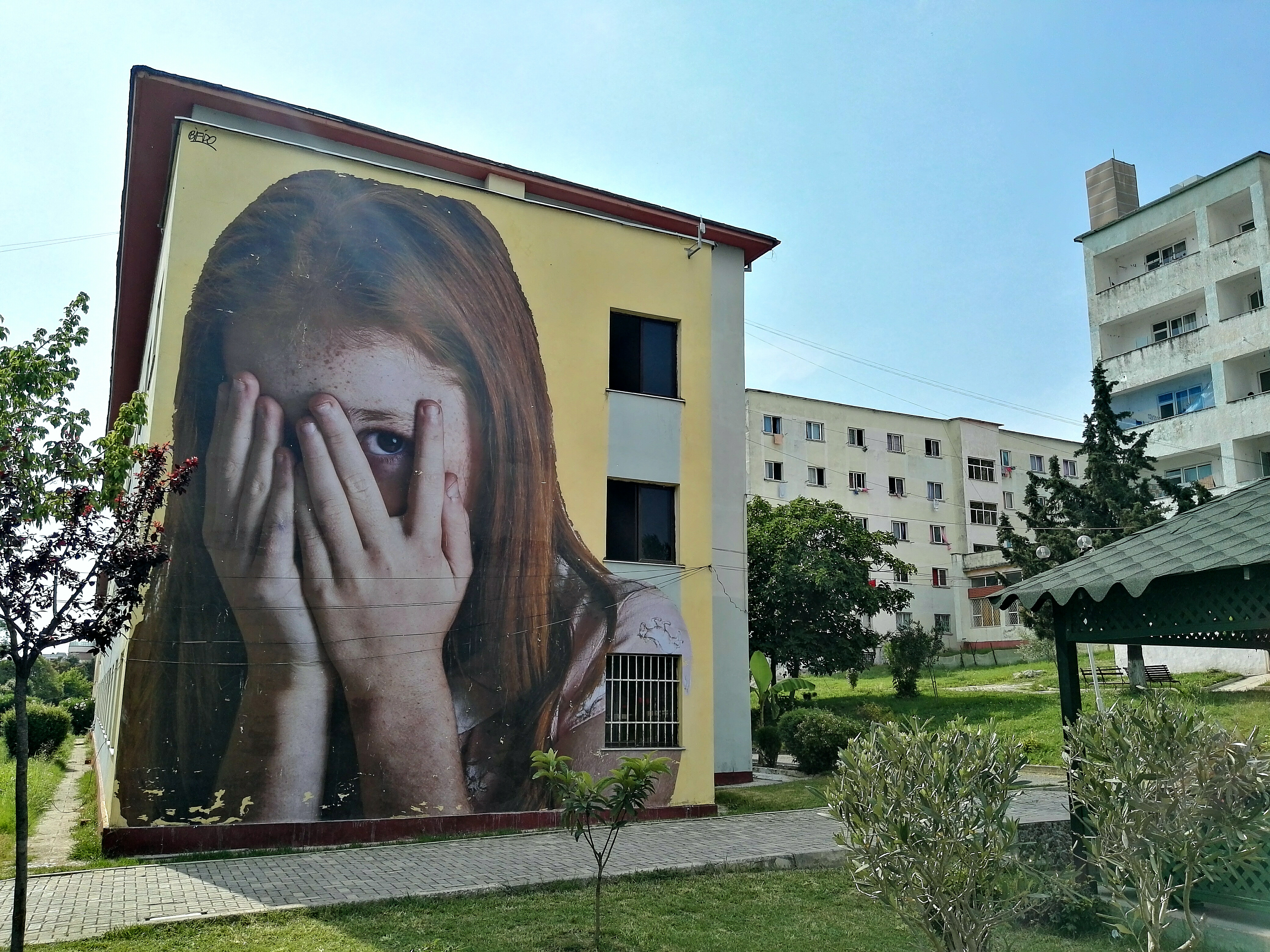 Il rinascimento dell'arte in Europa parte dalla Street art di Tirana