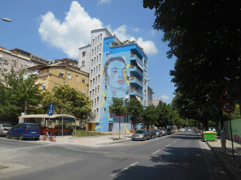 Tirana. Work by Davide DPA. ph 167b street