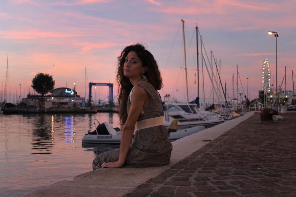 Sabrina_porto di rimini_golden hour