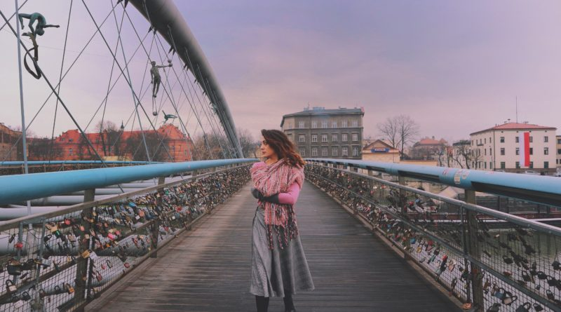 Ponte Cracovia che unisce Kazimierz e Podgórze