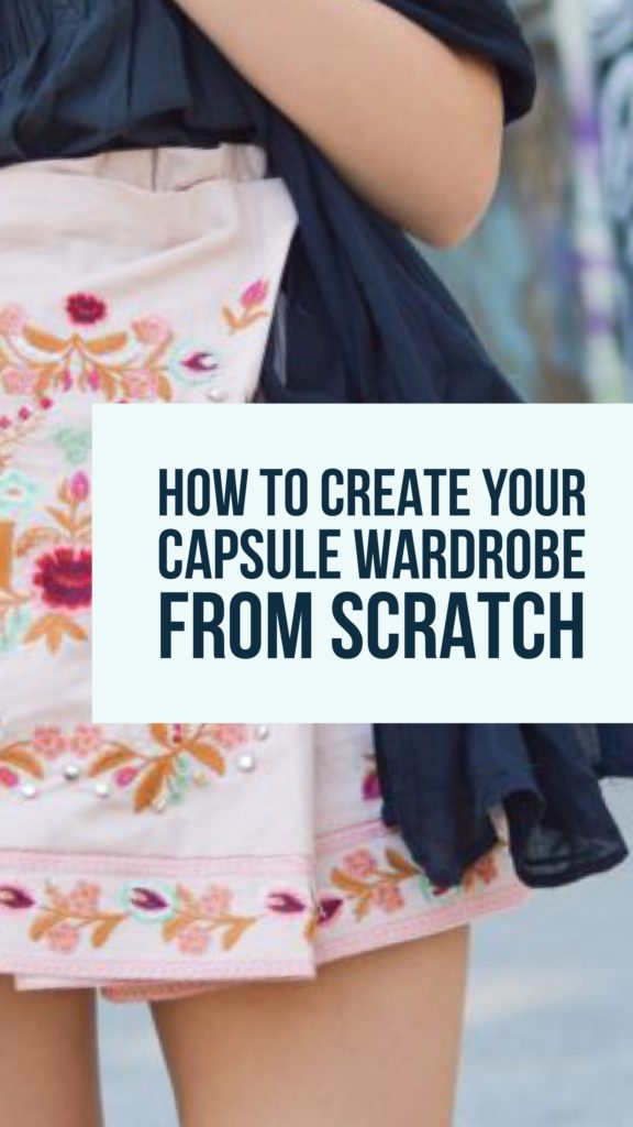Pinterest_how to create your capsule wardrobe from the scratch