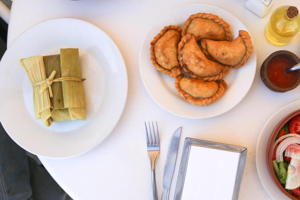 ARGENTINA veg food in argentina humita