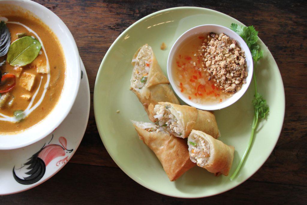 Thai Veg Spring rolls