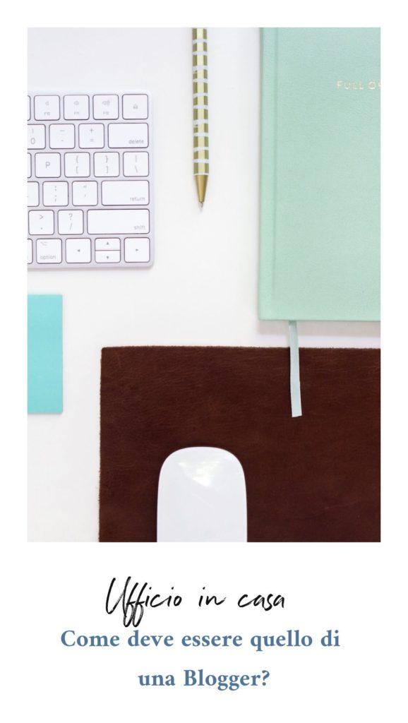 Ufficio in casa di un blogger_come deve essere
