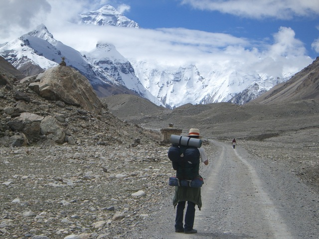 trekking everest tiibet