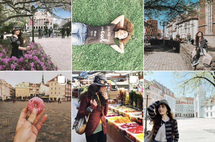 viaggio a riga lettonia - feed instagram