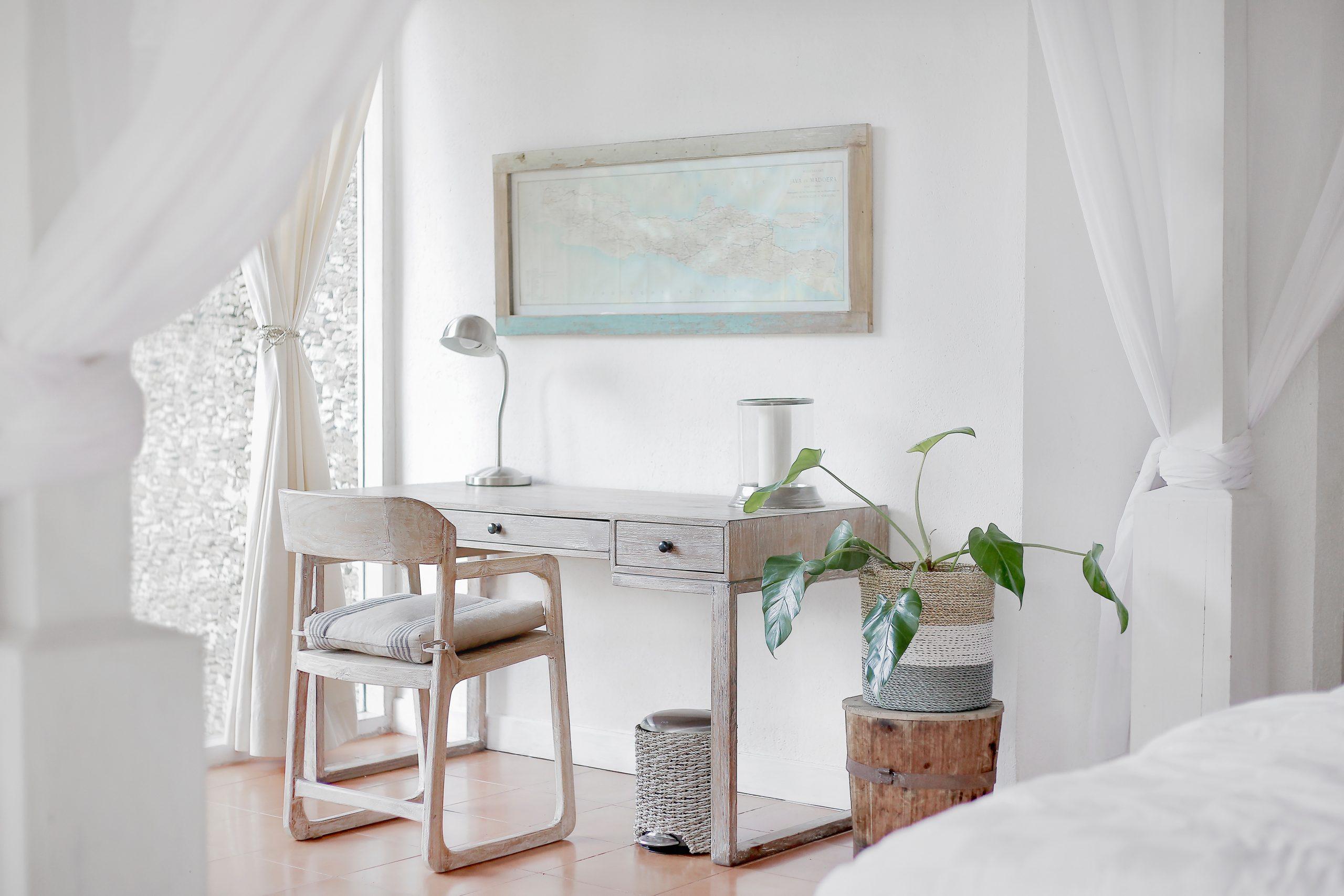 Lavorare da casa: lo stile minimal come risorsa