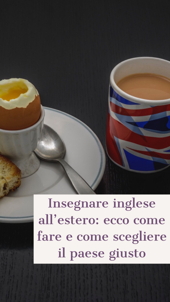 insegnare inglese all'estero: come fare e che cosa serve