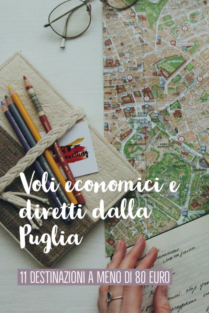 11 destinazioni dirette ed economiche per l'estero dalla Puglia