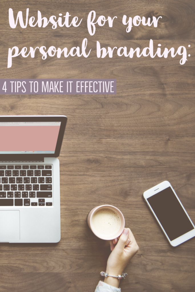 "4 tips to create an effective and ""seductive"" website for your personal branding"