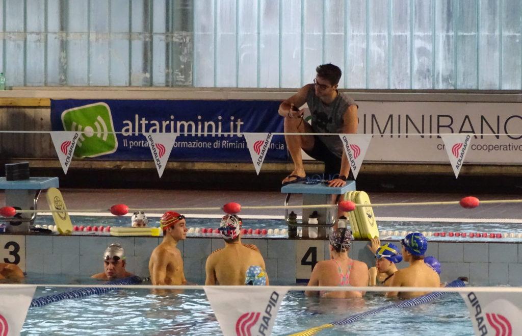 Dettaglio piscina al coperto, Garden Sporting Center di Rimini