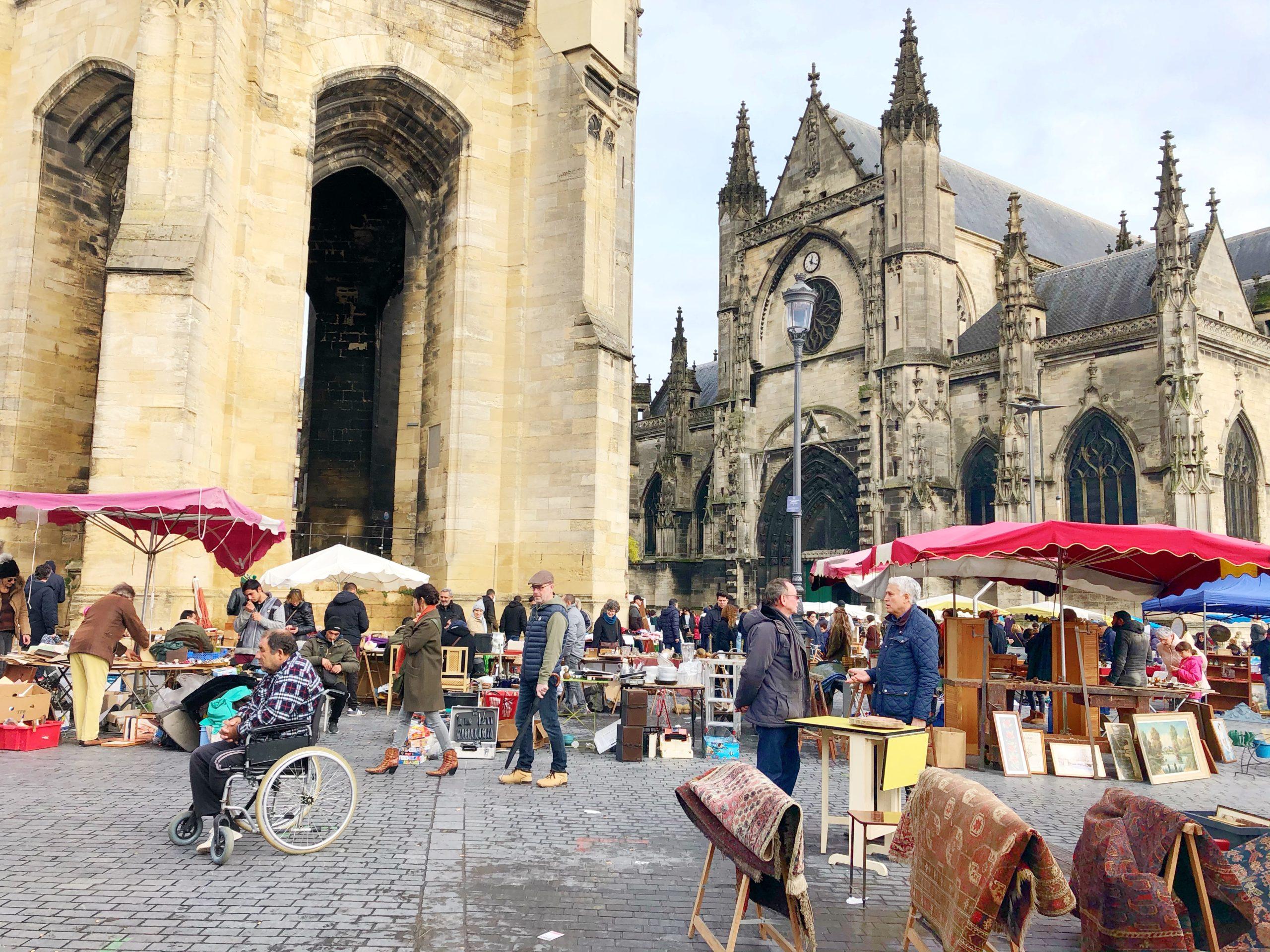 mercatini di Bordeaux, brocante saint michel