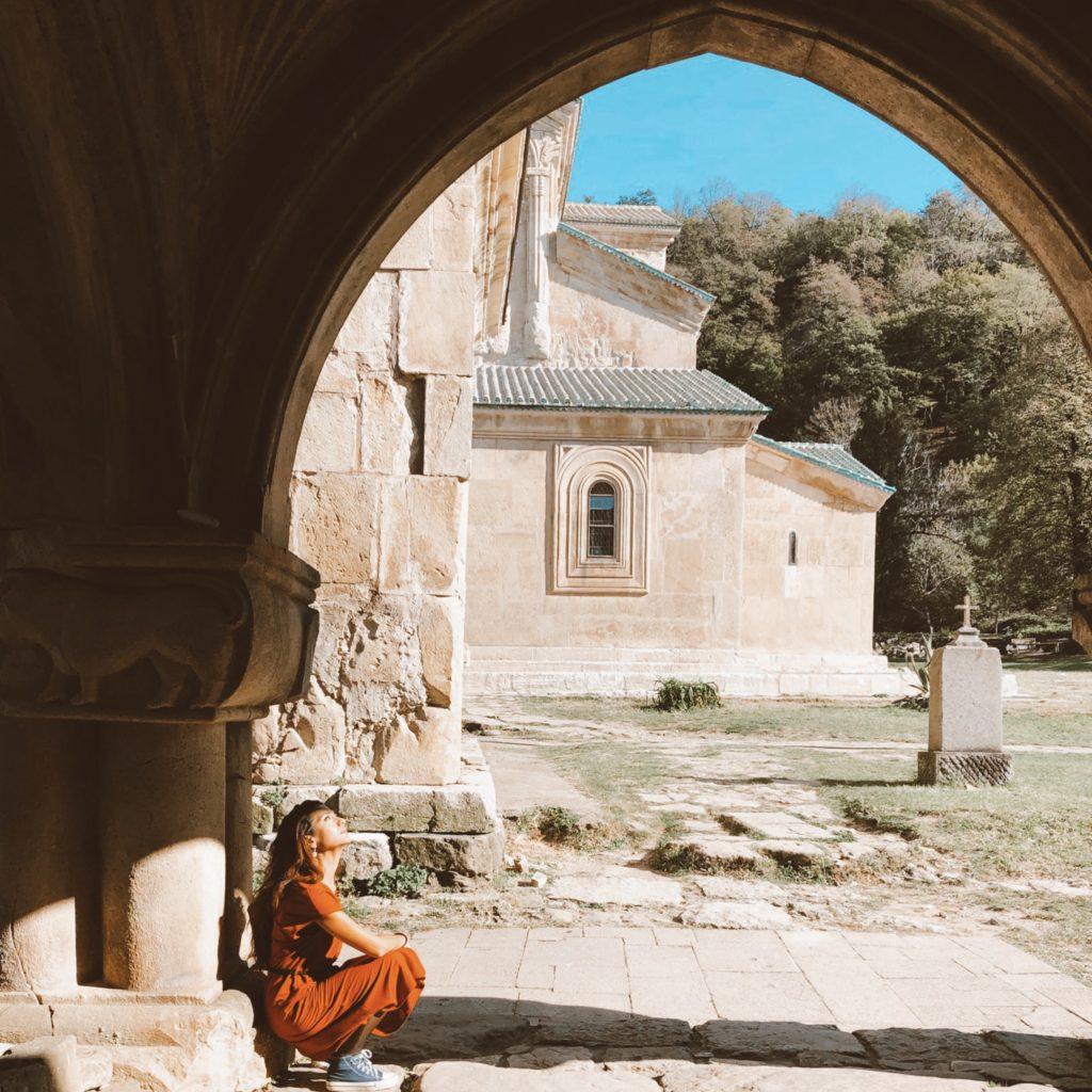 Cattedrale di Gelati, itinerario in auto Georgia