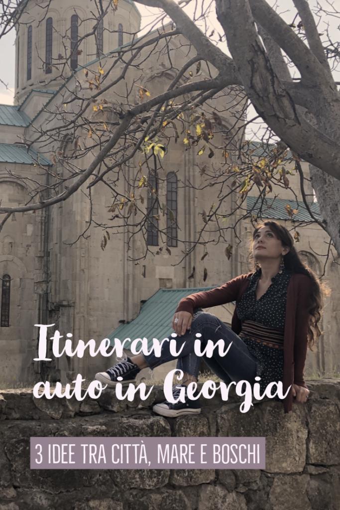 itinerari in auto in georgia