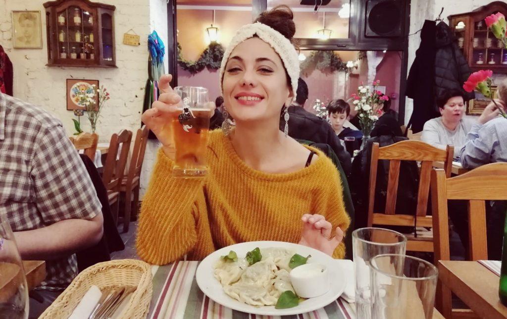 mangiare pierogi a varsavia