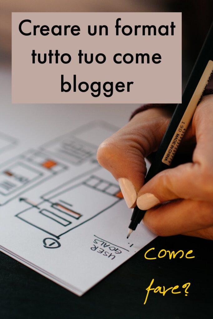come creare un format come blogger