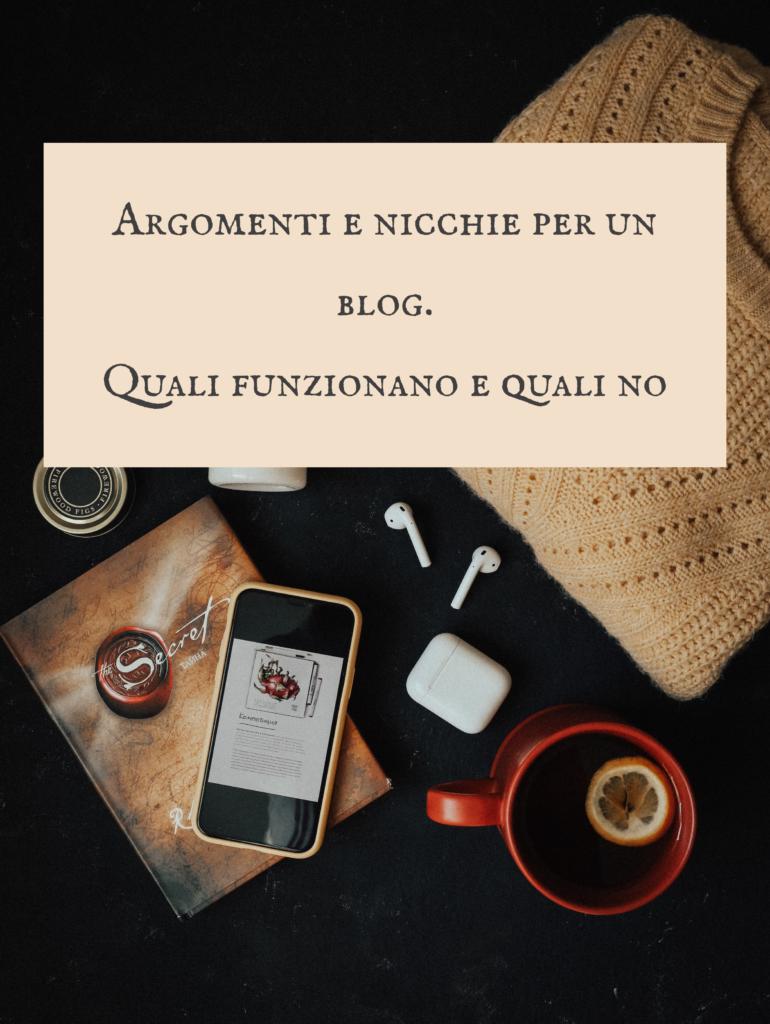 blog argomenti - quali argomenti per il blog
