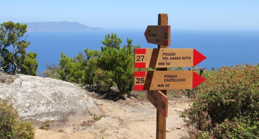 Sentieri dell'Isola del Giglio: i percorsi di escursione più belli
