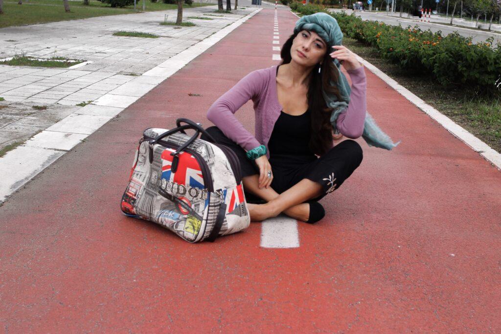 outfit per viaggiare_sabrina Barbante indossa cocou