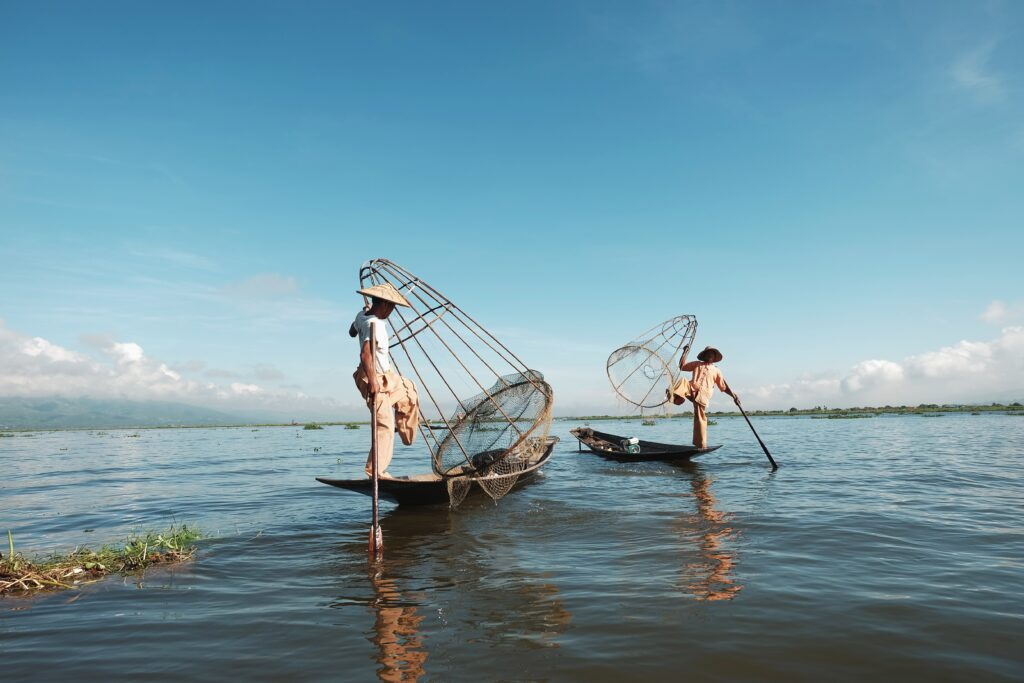 Inle lake - viaggio in Birmabia - mega-caesaria