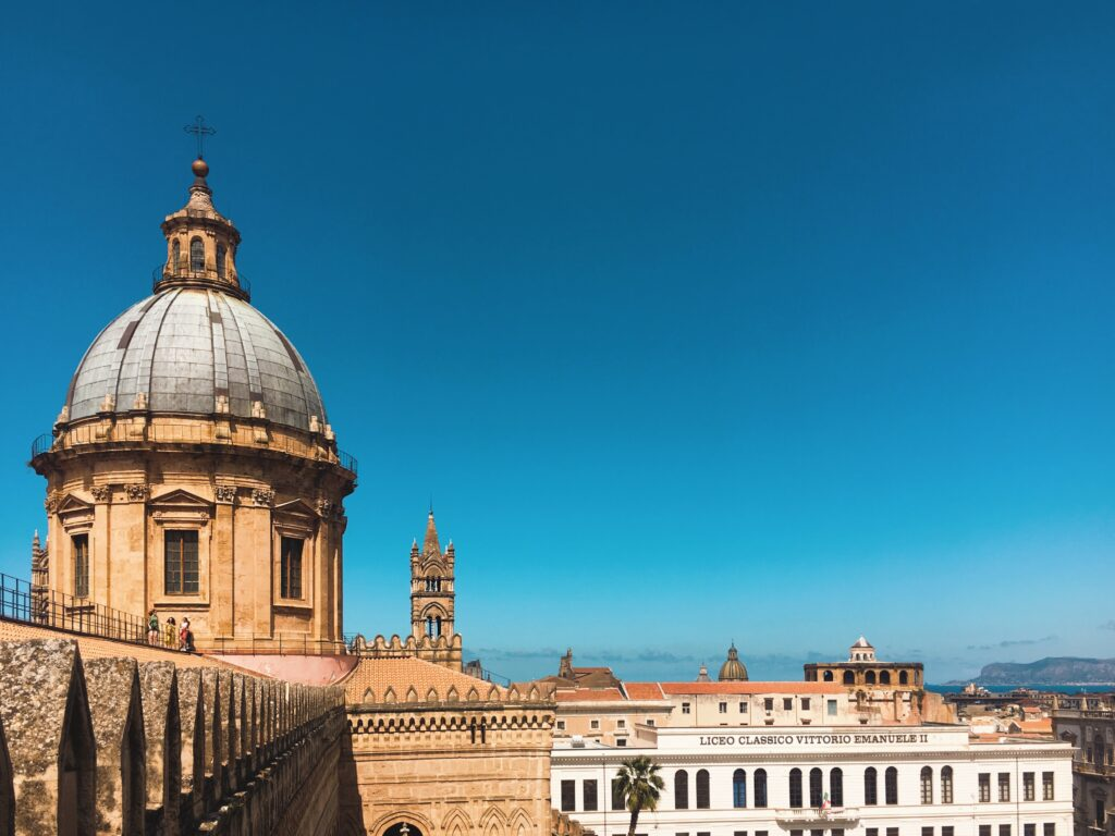 palermo - tetti centro storico
