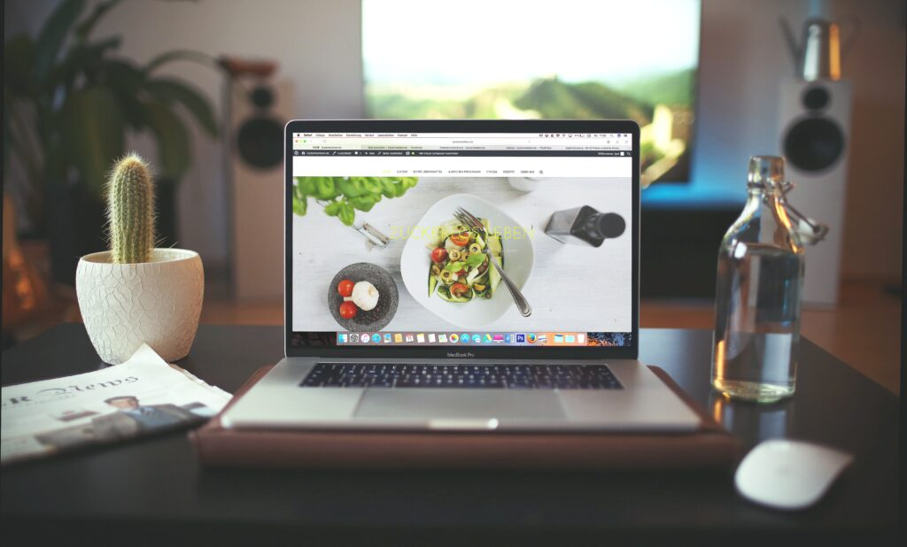 compute aperto su un blog