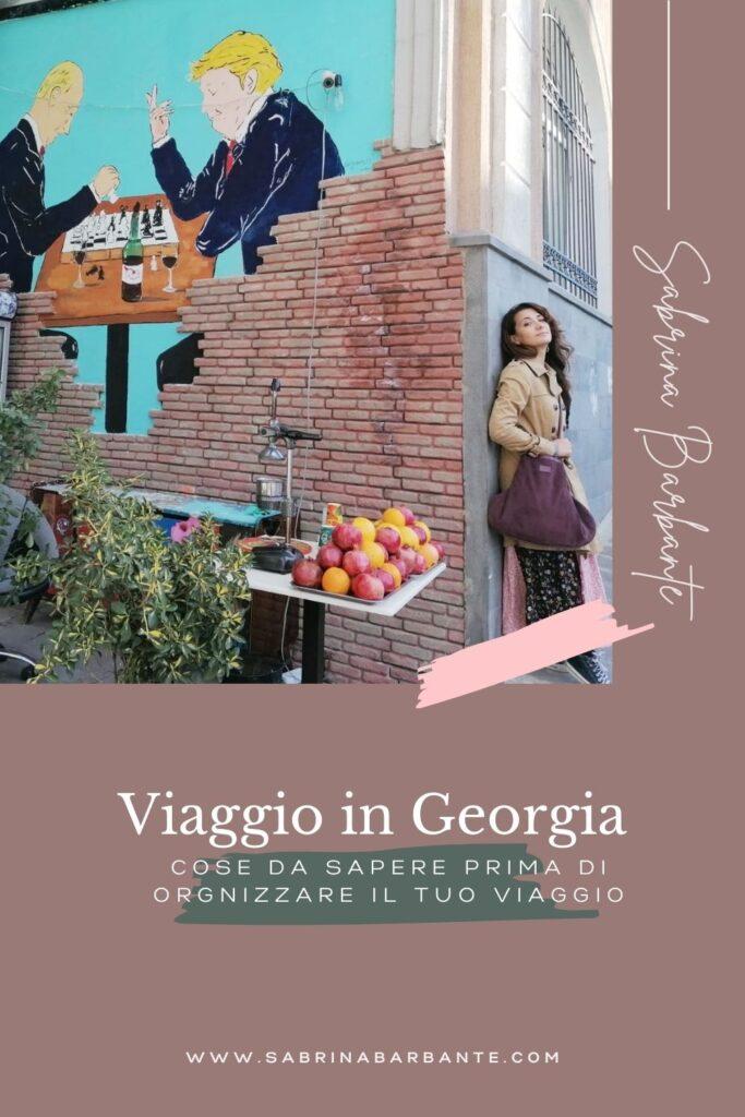 Viaggio in Georgia - cosa sapere