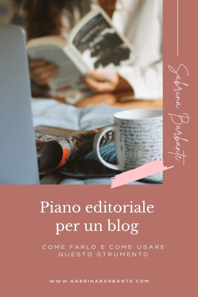 fare un piano editoriale di un blog