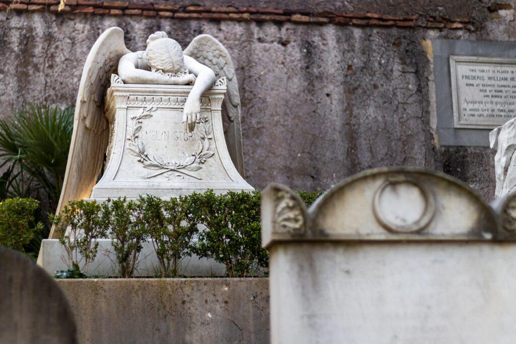 luoghi particolari roma cimitero acattolico