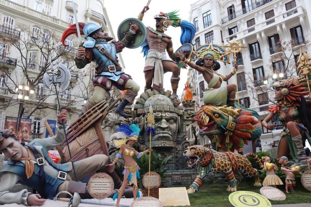 feste in Europa - las fallas