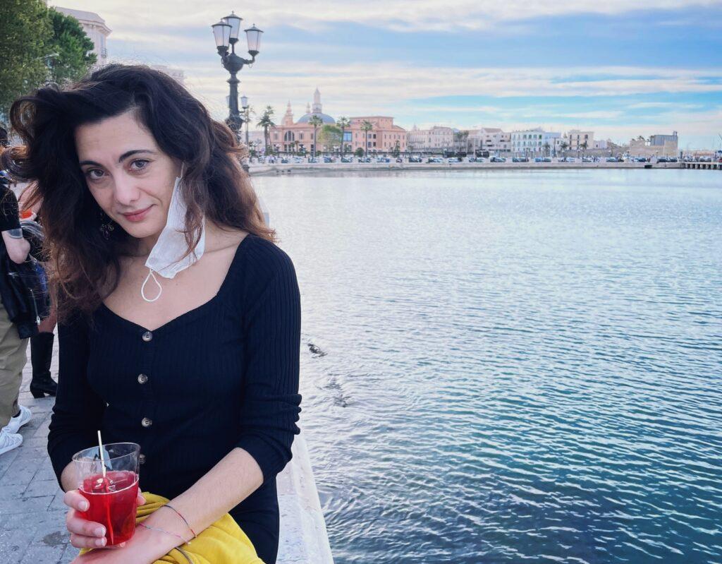 sabrina a Bari - viaggiare estate 2021
