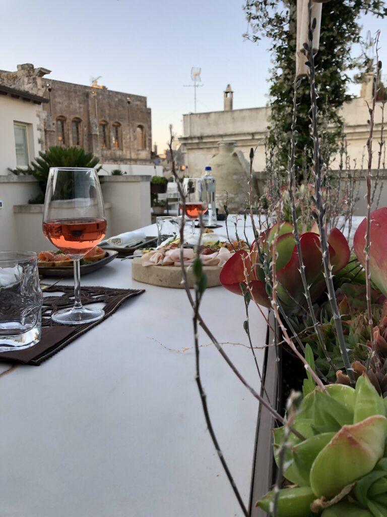 terrazza a Lecce - pollicastro