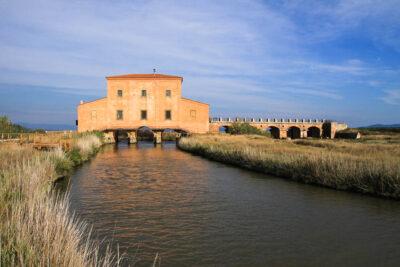 Castiglione della Pescaia, casa rossa