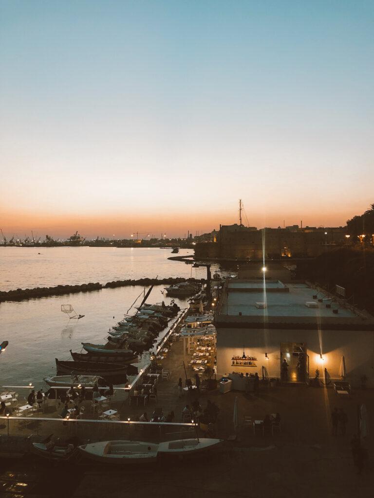 cosa vedere a taranto - tramonto