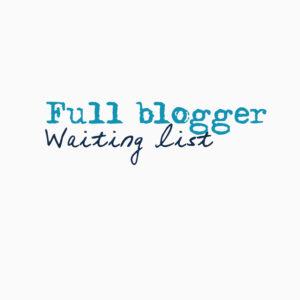 full blogger waiting list